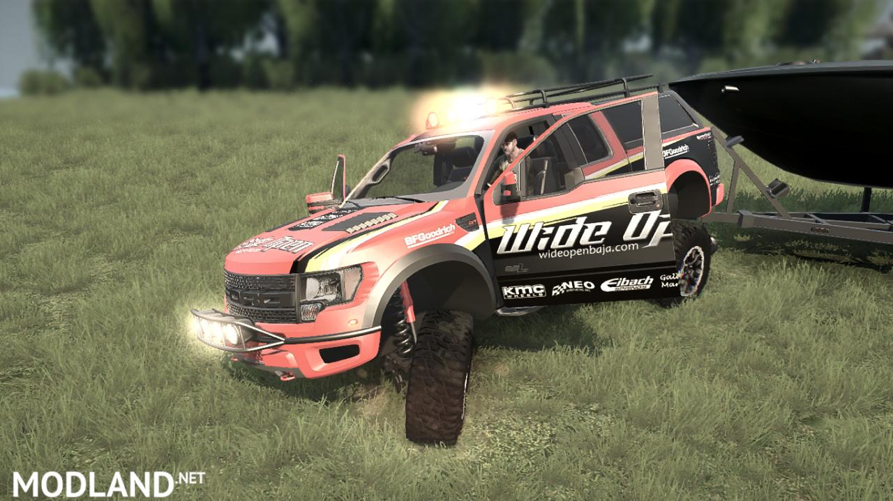 Ford Raptor F150 modification v 1.0 for (v29.01.18)