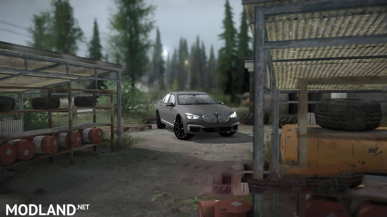 BMW M760i 2017 Car