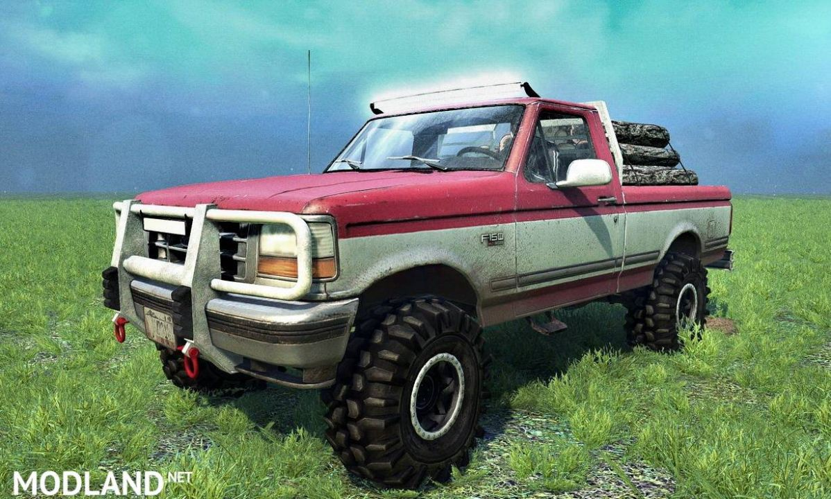 1992 Ford F150 Ol' Red MkII
