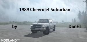 Chevrolet Suburban 1989 v 1.0 - External Download image
