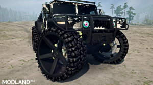 HMMWV M6 Alpha Wolf version 08.08.18 for (v18/05/21)