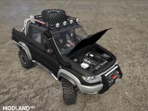 UAZ Patriot Pickup v 1.0, 1 photo