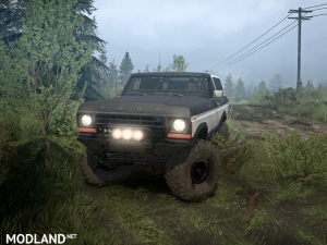 Ford Bronco Custom 1978 version 09.12.17 for v30.11.17, 4 photo