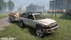 Dodge Dakota Remasteres BullMods v 08.02.18 for Spintires: MudRunner (v11.12.17), 4 photo