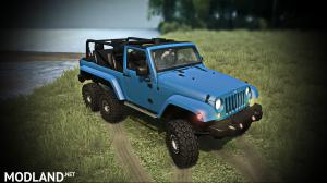 Jeep Wrangler 6x6 Turbo version 10.03.18 for (v29.01.18), 4 photo
