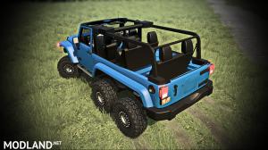 Jeep Wrangler 6x6 Turbo version 10.03.18 for (v29.01.18), 1 photo