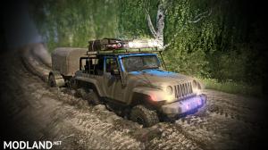 Jeep Wrangler 6x6 Turbo version 10.03.18 for (v29.01.18), 2 photo