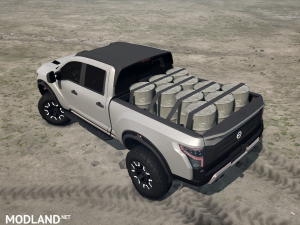 Nissan Titan Warrior 2016 v 1.0, 3 photo