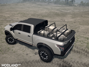 Nissan Titan Warrior 2016 v 1.0, 4 photo