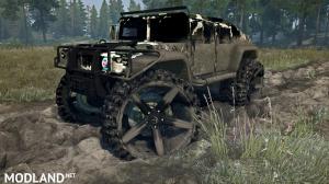 HMMWV M6 Alpha Wolf version 08.08.18 for (v18/05/21), 3 photo