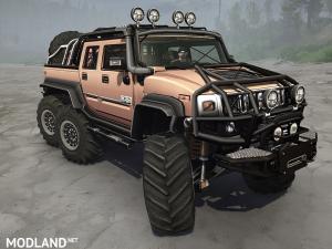 Hummer h2-6x6 v 2.0 - External Download image