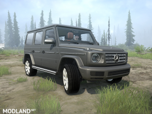 Mercedes Benz G-Class 2019 v  1.0, 1 photo