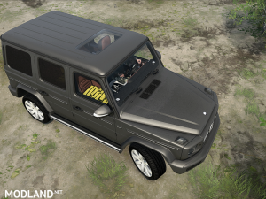 Mercedes Benz G-Class 2019 v  1.0, 4 photo