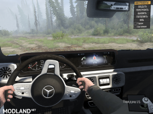 Mercedes Benz G-Class 2019 v  1.0, 5 photo