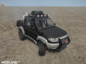 UAZ Patriot Pickup v 1.0, 4 photo