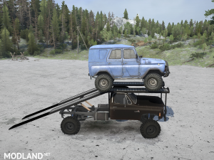 1975 Chevy K20 Ramp Truck v 1.0, 4 photo