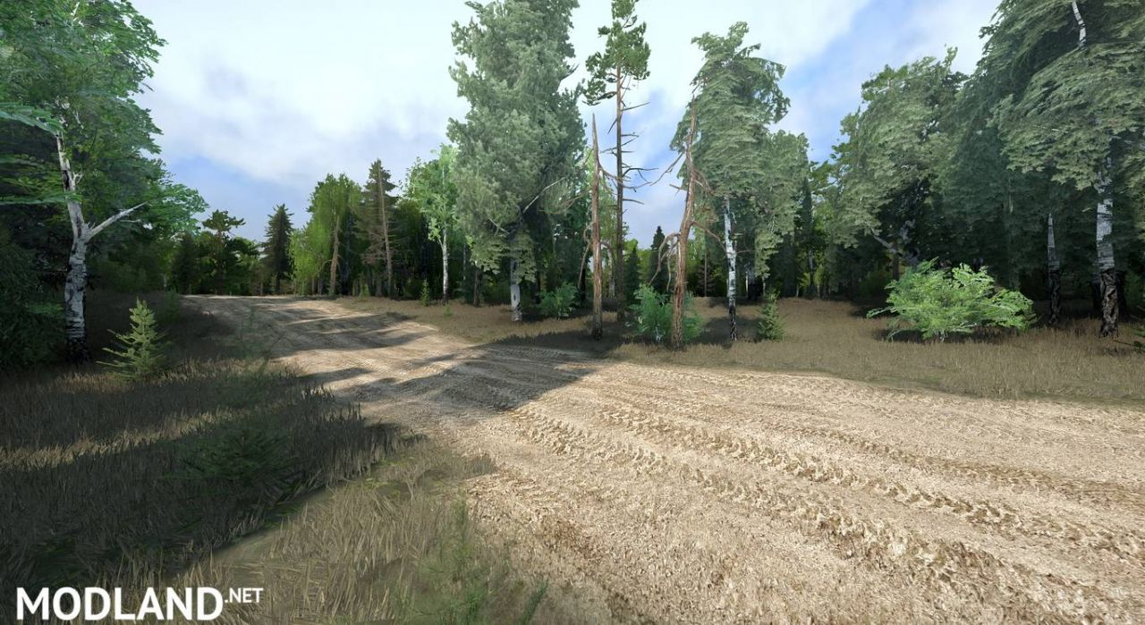 """Map """"The Spintires 1000"""""""