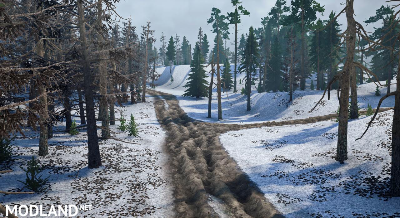 """Map """"Winter"""" for (v18 / 05/21)"""