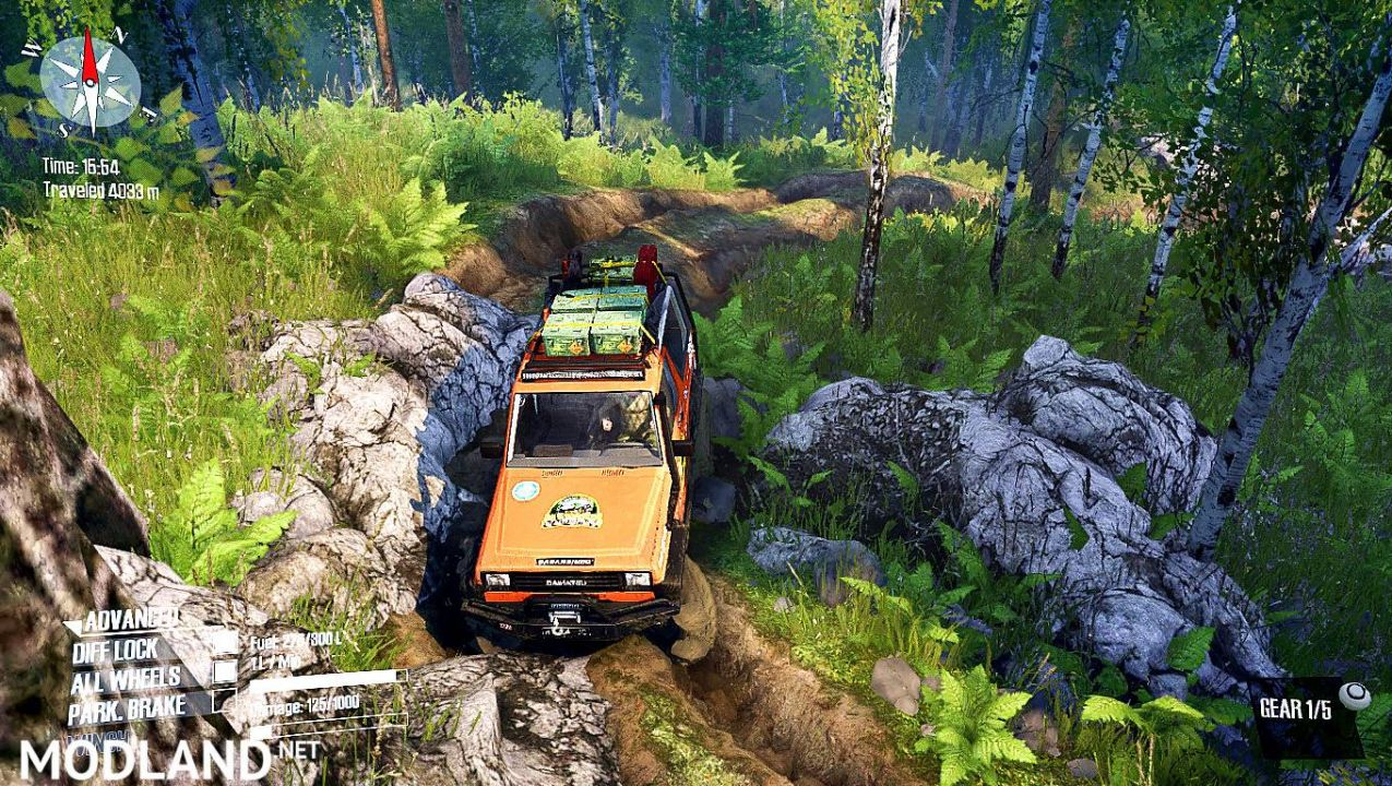 "Map ""IOX Adventure Offroad"" V1.0 for"