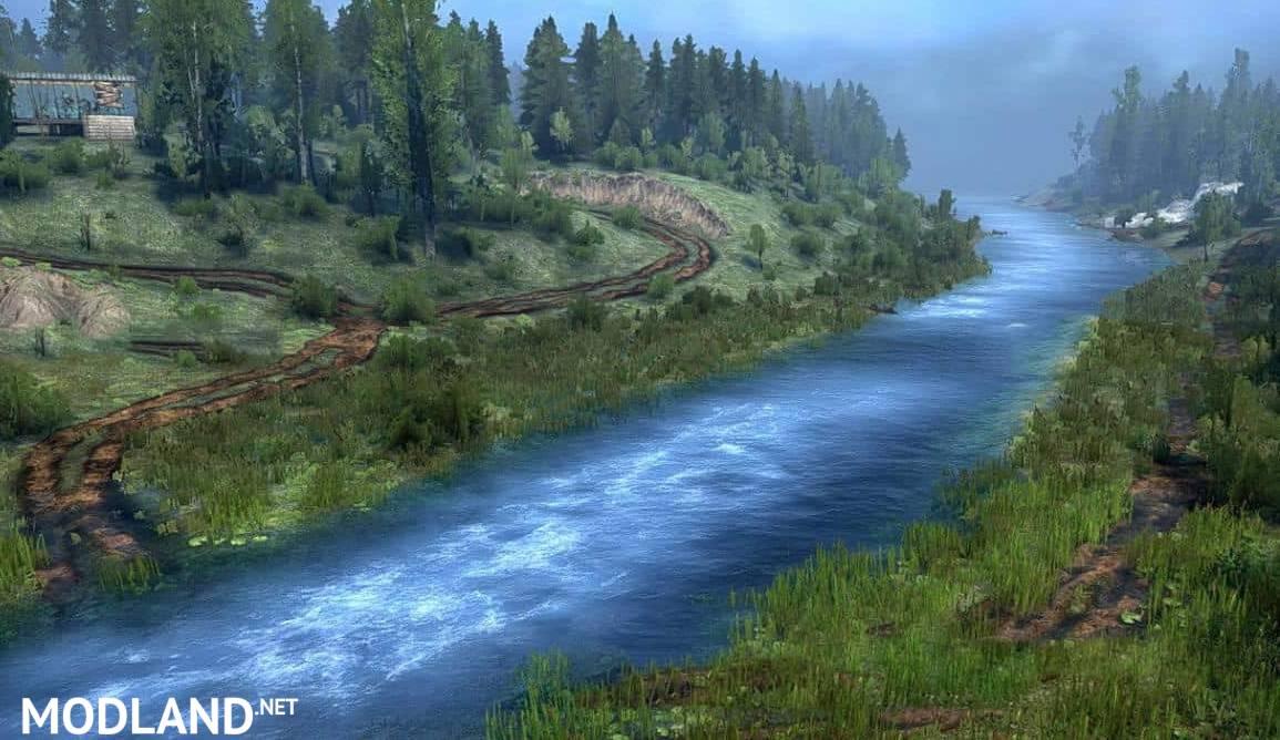 """Map """"Spruce Slides"""""""