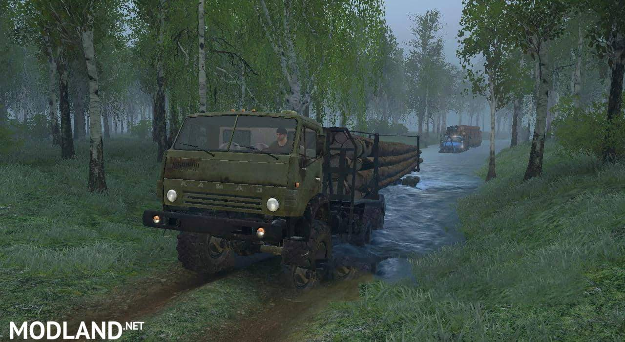 Operation Brigade in the Forest Map