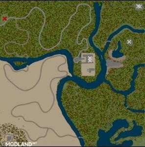 """Map """"Longmen Town"""", 2 photo"""