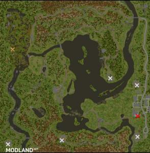 """Map """"Priozerye"""" v 1.0, 2 photo"""