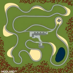 Map «F1 Race Track» (v18/05/21), 4 photo