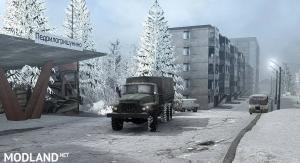 """Map """"White Snow"""" v 1.0, 1 photo"""
