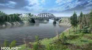 "Map of ""Bridges County"" v 1.0, 1 photo"