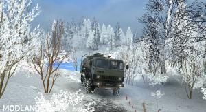 """Map """"White Snow"""" v 1.0, 4 photo"""