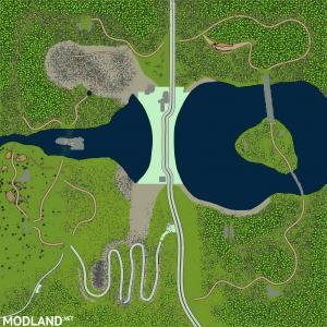 Map of Noristh Dam version 02.05.18 for (v18 / 03/06)