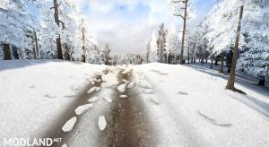 "Map ""Snow Ridge Logging"" , 2 photo"