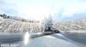 "Map ""Snow Ridge Logging"" , 4 photo"