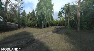 """Map """"Deer run valley"""", 3 photo"""