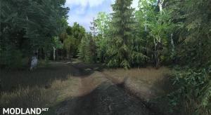"""Map """"Deer run valley"""", 4 photo"""