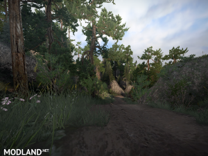 "Map ""Badlands Revisited"", 2 photo"