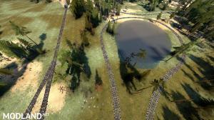 "Map ""Test railway 1.9"" v 1.0, 3 photo"