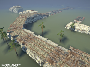 "Map ""Flooded Town"" v 1.0, 6 photo"