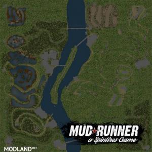 """Map """"Quiet Location"""", 2 photo"""