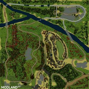 "Map ""Veinte"" for Mudrunner, 1 photo"