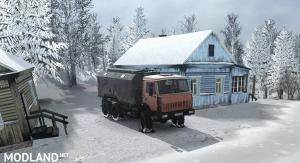 """Map """"White Snow"""" v 1.0, 3 photo"""