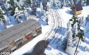 """Map """"Rolling Snow"""" v 1.0, 3 photo"""
