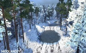 """Map """"Rolling Snow"""" v 1.0, 4 photo"""
