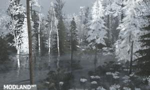 Winter Bog Map , 3 photo