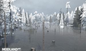 Winter Bog Map , 2 photo