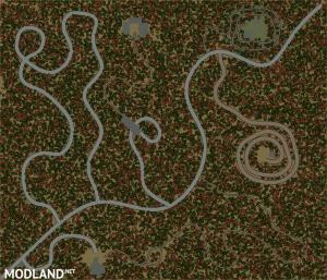 "Map ""The gospel of the original car party"", 4 photo"