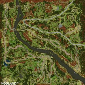 "Map ""Indian Pass"" v 1.0 for v11.12.17, 4 photo"