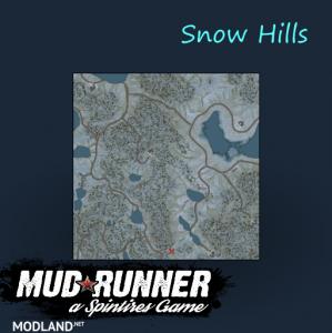 "Map ""Snow Hills"" v 1.0, 5 photo"