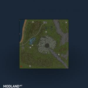 Map: Three plots, 5 photo
